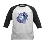 Bass Clef Deco2 Kids Baseball Jersey
