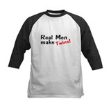 Real Men Make Twins Tee