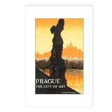 Prague Czech Republic Postcards (Package of 8)
