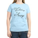 Vocabulary is Sexy Women's Light T-Shirt