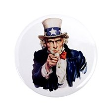 "Uncle Sam 3.5"" Button"