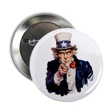 "Uncle Sam 2.25"" Button (100 pack)"