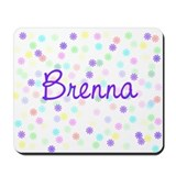 Brenna Flower Power Mousepad