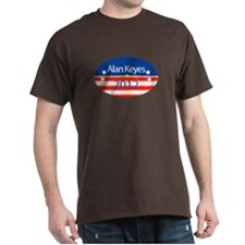 Alan Keyes 2012 T-Shirt