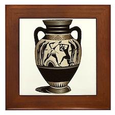 All Greek to Me Framed Tile
