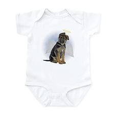 Angel German Shepherd Puppy Infant Bodysuit