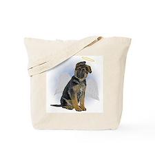 Angel German Shepherd Puppy Tote Bag