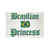 Brazilian Princess 2 Rectangle Magnet