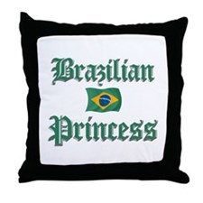 Brazilian Princess 2 Throw Pillow