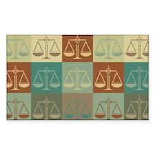 Patents Pop Art Rectangle Decal