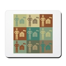 Parks Pop Art Mousepad