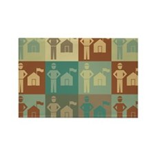 Parks Pop Art Rectangle Magnet (100 pack)