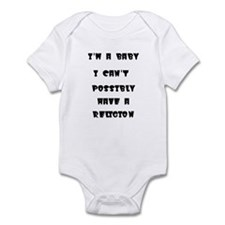 ImababyIcanthaveareligion Body Suit