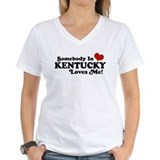 Somebody In Kentucky Loves Me Shirt