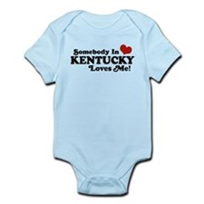 Somebody In Kentucky Loves Me Infant Bodysuit