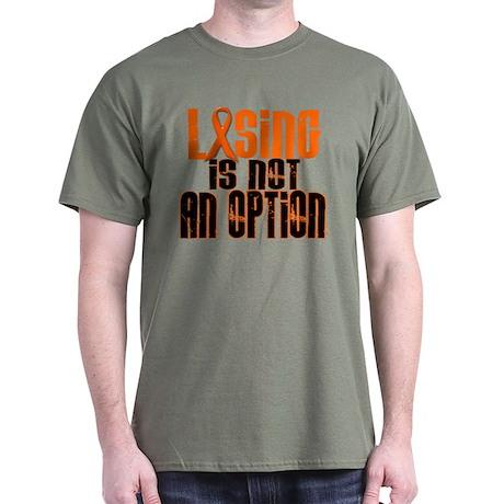 Losing Is Not An Option 5 ORANGE Dark T-Shirt