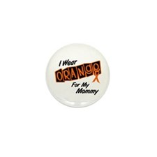 I Wear Orange For My Mommy 8 Mini Button (10 pack)