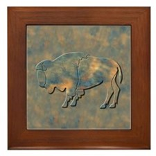 Bison Framed Tile