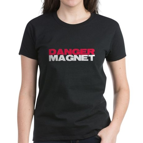 Danger Magnet Twilight Women's Dark T-Shirt