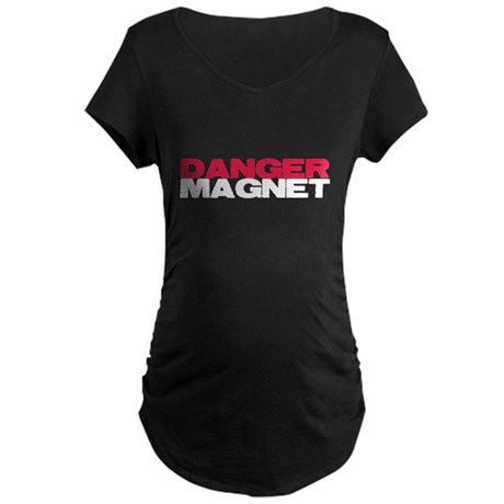 Danger Magnet Twilight Maternity Dark T-Shirt