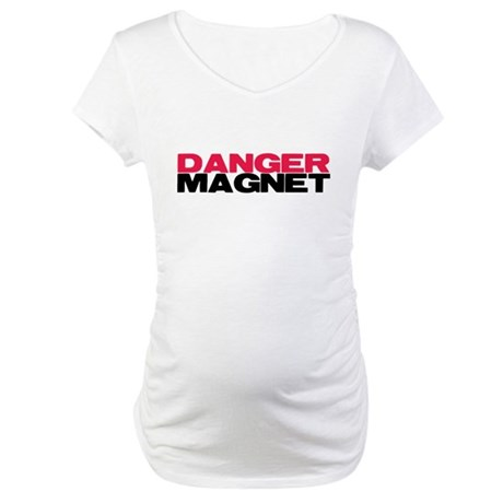Danger Magnet Twilight Maternity T-Shirt