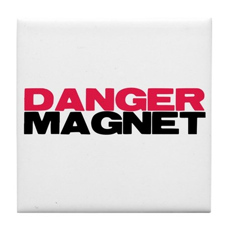 Danger Magnet Twilight Tile Coaster