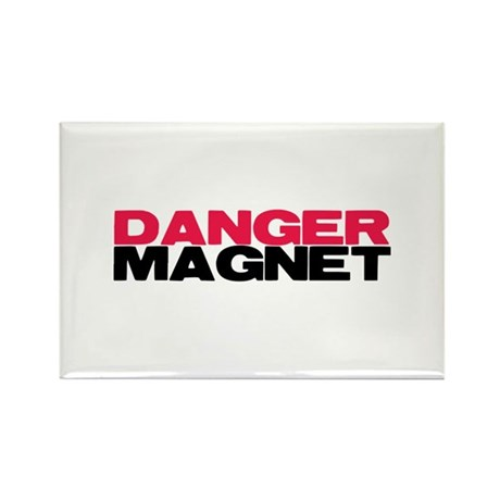 Danger Magnet Twilight Rectangle Magnet