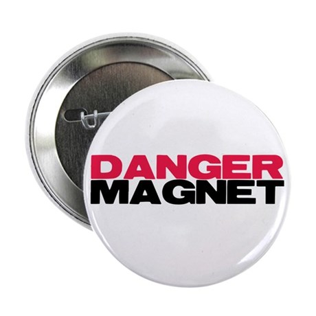 "Danger Magnet Twilight 2.25"" Button (10 pack)"