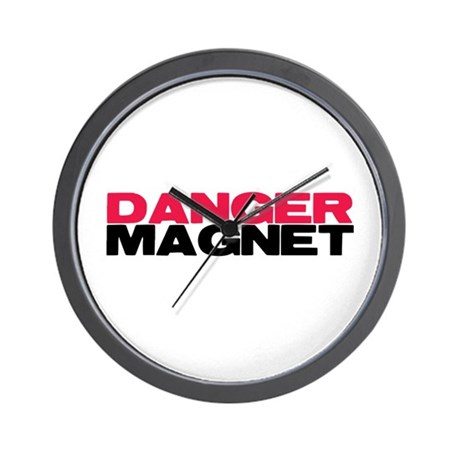 Danger Magnet Twilight Wall Clock