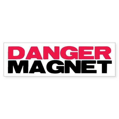 Danger Magnet Twilight Bumper Sticker