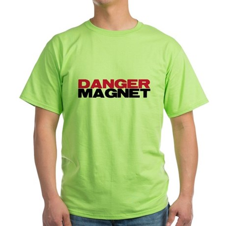 Danger Magnet Twilight Green T-Shirt