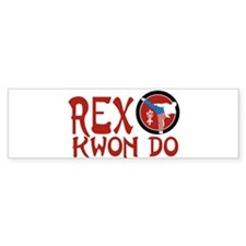 Rex Kwon Do Bumper Bumper Sticker