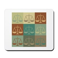 Paralegal Work Pop Art Mousepad