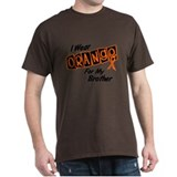 I Wear Orange For My Brother 8 T-Shirt