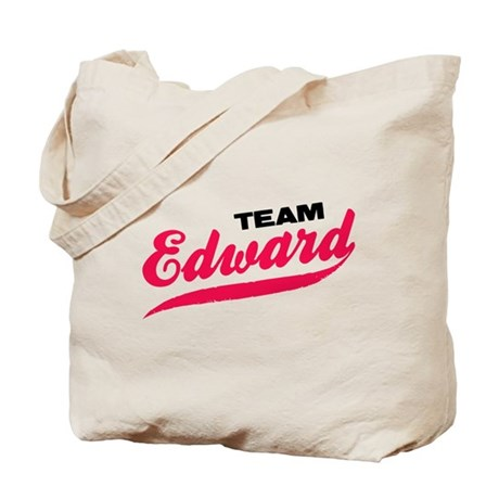 Team Edward Twilight Tote Bag