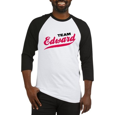 Team Edward Twilight Baseball Jersey