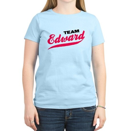 Team Edward Twilight Women's Light T-Shirt