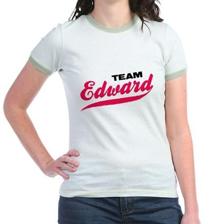 Team Edward Twilight Jr. Ringer T-Shirt
