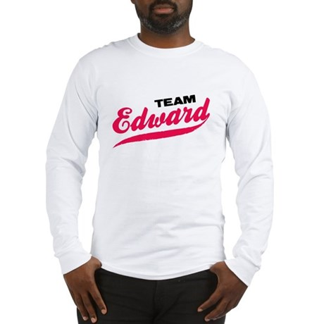 Team Edward Twilight Long Sleeve T-Shirt