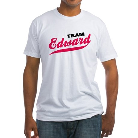 Team Edward Twilight Fitted T-Shirt