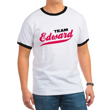 Team Edward Twilight Ringer T