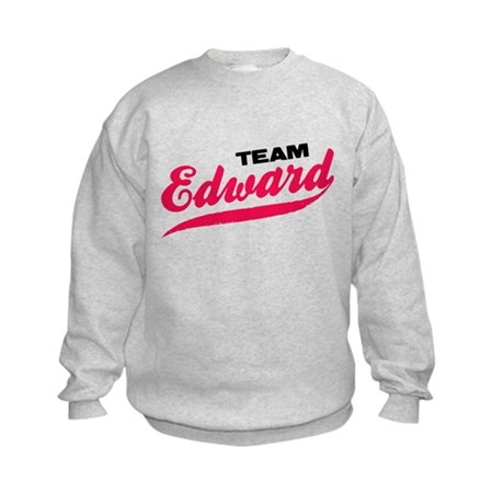 Team Edward Twilight Kids Sweatshirt