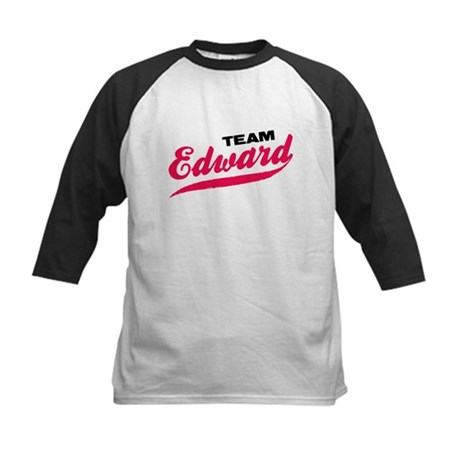 Team Edward Twilight Kids Baseball Jersey