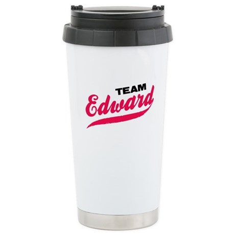Team Edward Twilight Ceramic Travel Mug