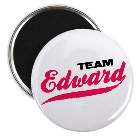 Team Edward Twilight Magnet