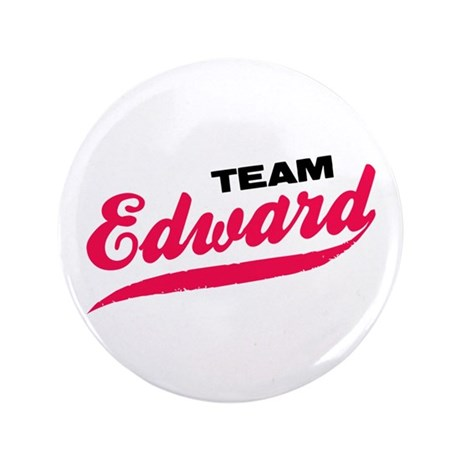 "Team Edward Twilight 3.5"" Button"