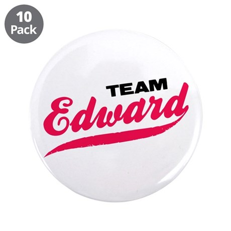 "Team Edward Twilight 3.5"" Button (10 pack)"