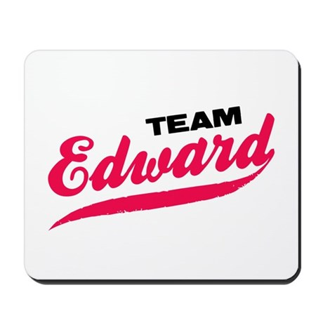 Team Edward Twilight Mousepad