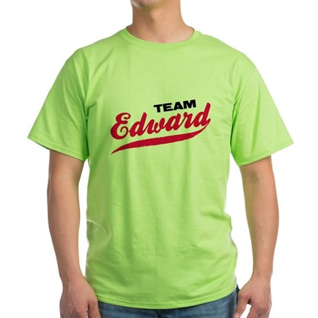 Team Edward Twilight Green T-Shirt