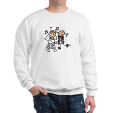 First Dance (stick figures)  Sweatshirt